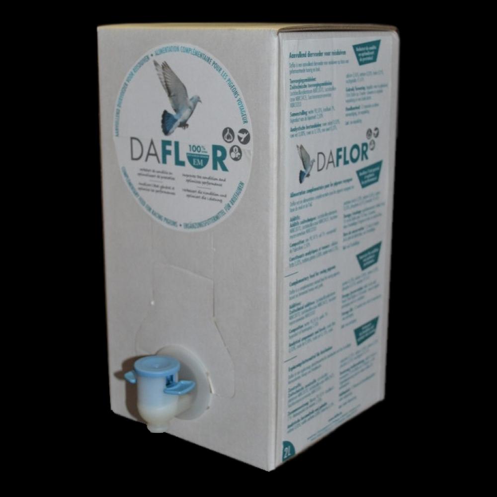Daflor, 2 liter bib met kraantje